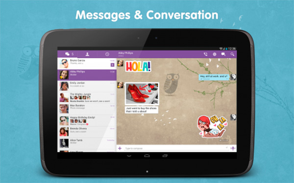 viber for tablet 1